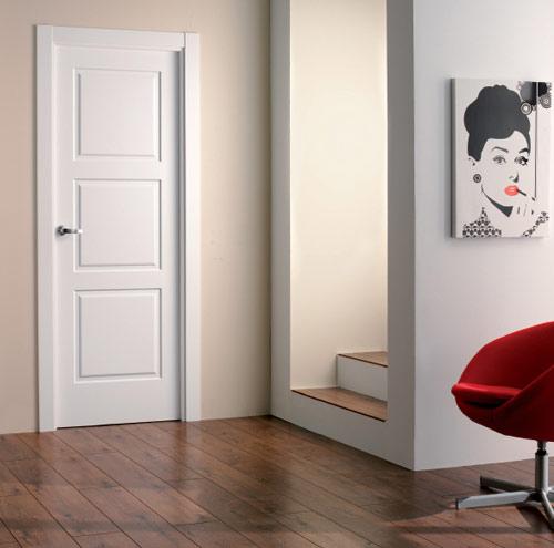 Puertas lacadas for Precios puertas interior blancas