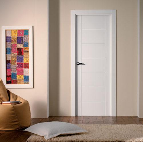 Puertas lacadas for Puertas casa interior